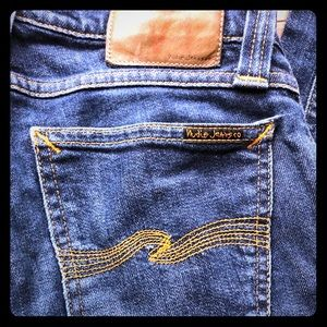 Nudie Jeans Tight Long John Stretch Denim